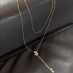 kate spade Jewelry - Double layer Kate Spade necklace